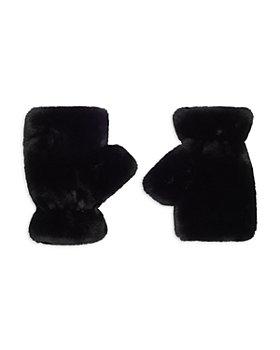 Apparis - Girls' Faux Fur Fingerless Gloves