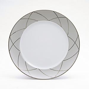 Haviland Claire De Lune Arch Chop Plate