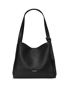 kate spade new york - Knott Pebbled Leather Large Shoulder Bag