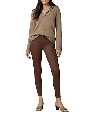 1961 Florence Instasculpt Skinny Ankle Jeans in Peacan Crinkled
