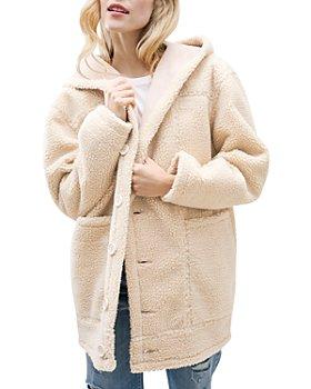 Splendid - Grayson Faux Sherpa Jacket