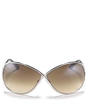 Tom Ford Women's Miranda Crossover Sunglasses, 68mm