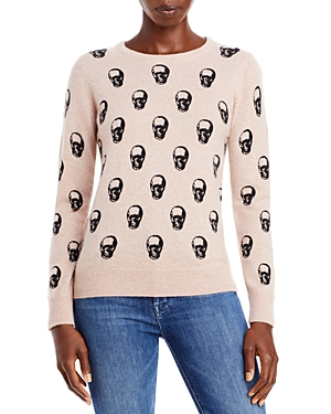 Cashmere Skull Print Sweater (64% off) Comparable value $248