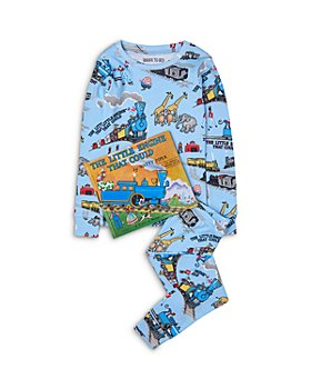 Hatley - Boys' Cotton The Little Engine That Could Pajamas & Book Set - Little Kid