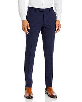 HUGO - Heiron Tonal Plaid Extra Slim Fit Suit Pants