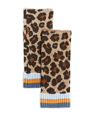 Happy Cat Knit Arm Warmers