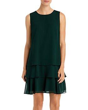 Ralph Lauren - Tiered Ruffle Shift Dress