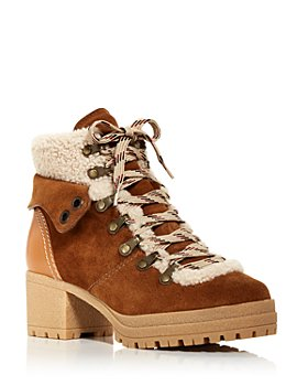 See by Chloé - Women's Eileen Shearling Hiking Boots