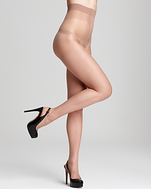 Donna Karan Nude Sheer-to-Waist Tights