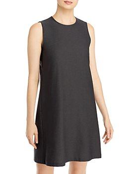 Eileen Fisher - Round Neck Shift Dress