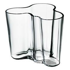 Iittala Aalto Vases, Clear - Bloomingdale's_0