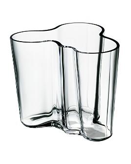 Iittala - Aalto Vases, Clear