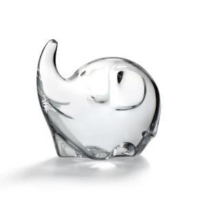 Baccarat Minimals Elephant Figurine