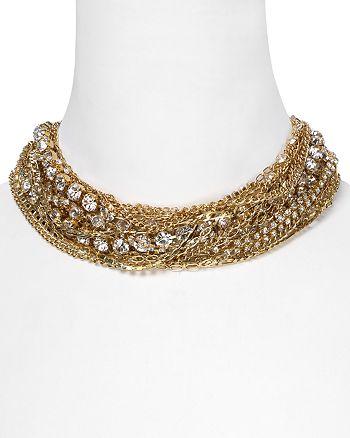 """ABS by Allen Schwartz - Gold Multi Torsade Necklace, 18"""""""