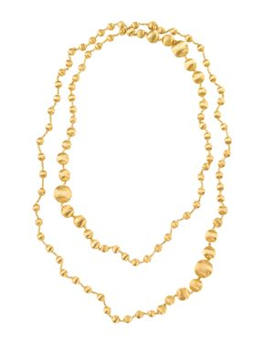 Marco Bicego Africa Gold Graduated Necklace, 48