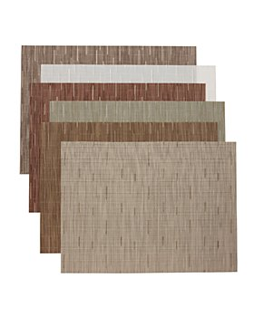 """Chilewich - """"Bamboo"""" Table Linens"""