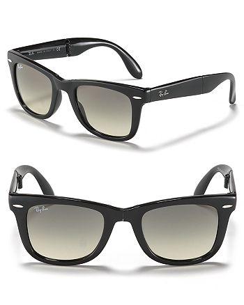 Ray-Ban - Unisex Folding Wayfarer Sunglasses