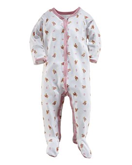 Ralph Lauren - Girls' Layette Printed Footie - Baby