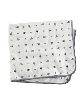 Ralph Lauren - Boys' Layette Reversible Printed Receiving Blanket - Baby