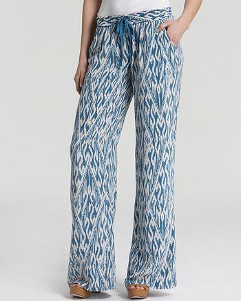 Joie - Aryn Ikat Printed Pants