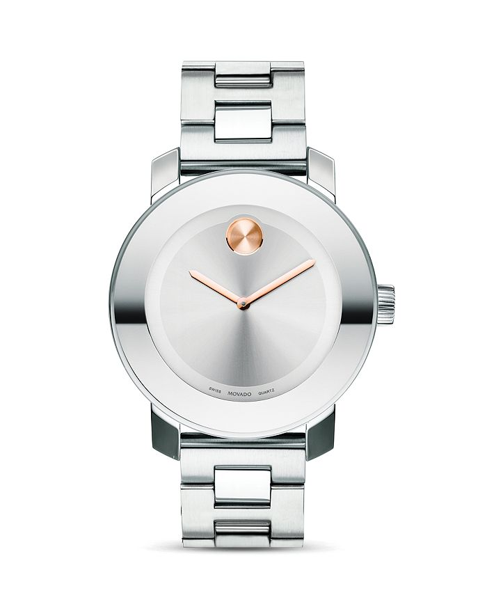 Movado - Medium Stainless Steel Watch, 36mm