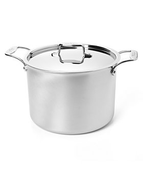 All-Clad - Brushed d5 Stock Pots
