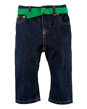 Ralph Lauren Childrenswear Infant Boys' Slim Denim Jeans - Sizes 9-24 Months
