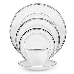 "Lenox - ""Pearl Platinum"" Dinner Plate"