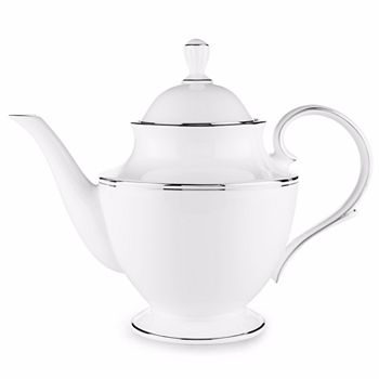 "Lenox - Federal ""Platinum"" Teapot"