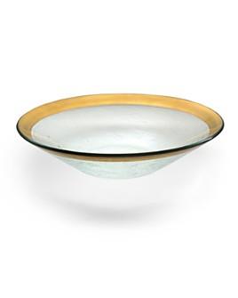 Annieglass - Roman Antique Wok Bowl