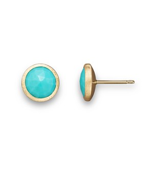 Marco Bicego - 18K Yellow Gold and Turquoise Earrings