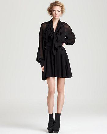 Rachel Zoe - Arielle Bishop Sleeve Dress
