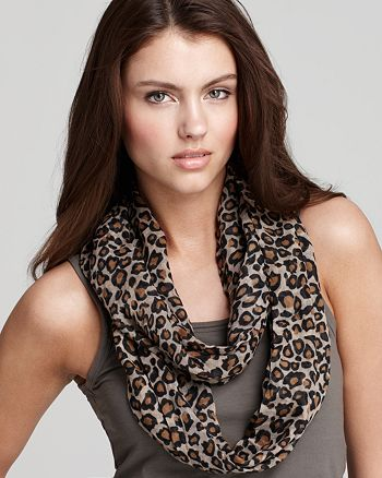 Fraas - Leopard Loop Scarf