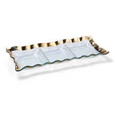 Annieglass Ruffle 3-Section Tray - Bloomingdale's_0