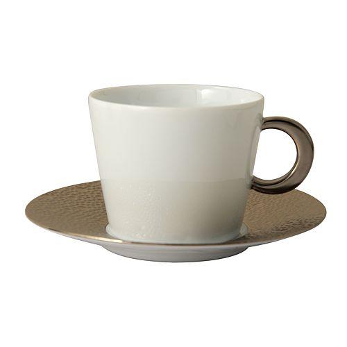 Bernardaud - Ecume Platinum Tea Cup