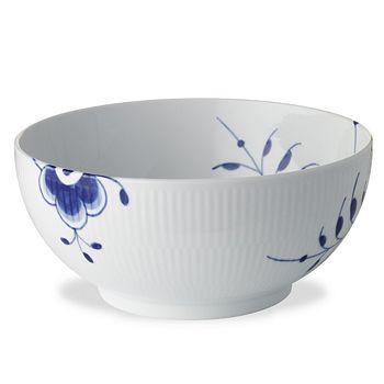 Royal Copenhagen - Blue Fluted Mega Serving Bowl, 7 Cups