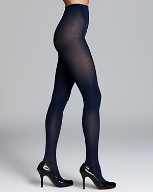 Sheer to Waist Opaque Tights