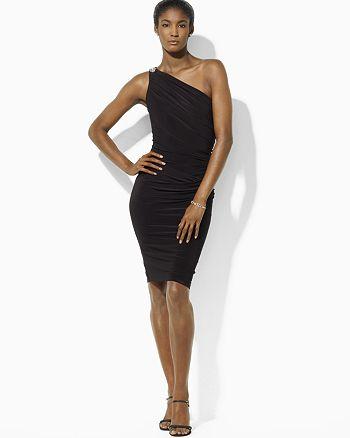 5ebd915946 Dress Embellished One Shoulder Dress. shop similar items shop all Lauren  Ralph Lauren