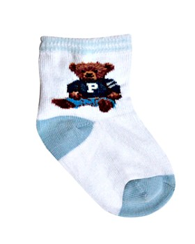 Ralph Lauren - Boys' Teddy Crew Socks - Baby