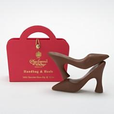Charbonnel et Walker - Mini Milk Chocolate Shoes in Handbag Box
