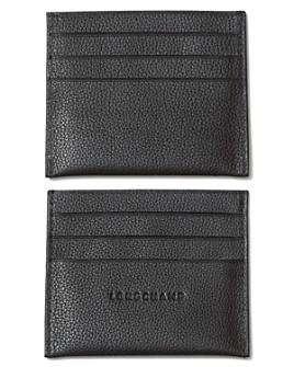 Longchamp - Le Foulonné Card Case
