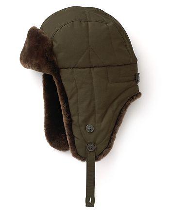 WOOLRICH JOHN RICH   BROS - Trapper Hat with Fur 64fab36930d8