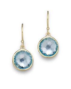 Ippolita 18k Gold Lollipop Earrings In Blue Topaz Bloomingdale S 0