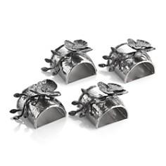 Michael Aram Black Orchid Napkin Rings, Set of 4 - Bloomingdale's Registry_0