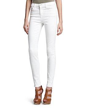 J Brand - Maria High-Rise Skinny Jeans in Blanc