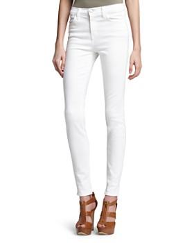 e8a3485ff0 J Brand - Maria High-Rise Skinny Jeans in Blanc ...