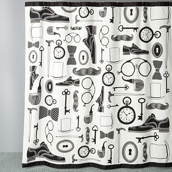 Jonathan Adler - Mantique Shower Curtain