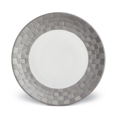 Byzanteum Platinum Round Serving Platter