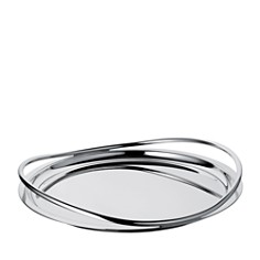 Christofle Vertigo Round Tray - Bloomingdale's_0
