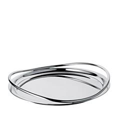 Christofle - Christofle Vertigo Round Tray